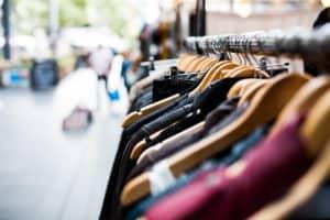 clothes rack